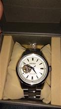 腕時計買いました!