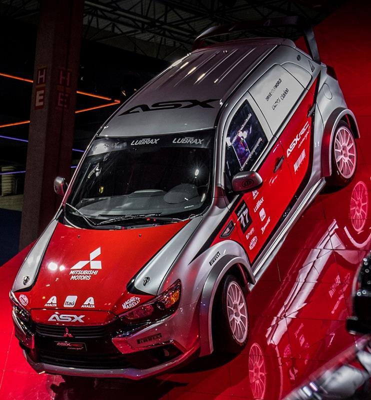 2017 Mitsubishi ASX RC Concept : Brasil ・・・・