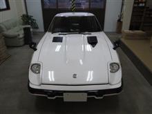フェアレディZ(2代目)S130型 フェンダーミラー仕様2シーター、採寸&装着確認(完成)