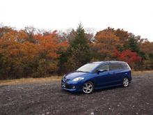 紅葉の富士山スカイライン