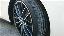 アルミとタイヤを変更しました。