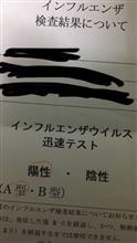 インフルエンザに( ̄▽ ̄;)