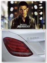 映画「ジャック・リーチャー」 Mercedes-Benz C220d... 本、読書...