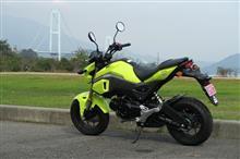 レンタルバイク、とびしま海道へ