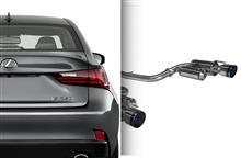 【車道楽日替セール】LEXUS IS 350用エグゾースト ARK Performance -アークパフォーマンス- オリジナルライセンスプレート付