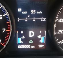 5000km走行