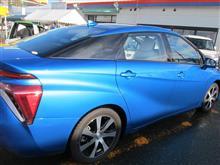 燃料電池自動車  TOYOTA 「MIRAI」