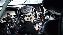 ポルシェ911のレースカーのインテリア