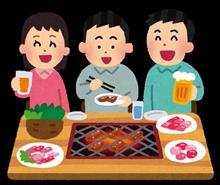 お昼までの仕事帰りに皆で焼肉ランチ(*^Q^)
