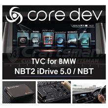 車速を気にせずTVを視聴できる!core dev TVC for BMW
