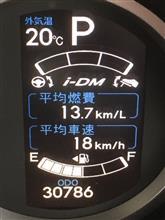 #61 燃費記録を更新しました!