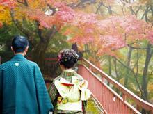 絵画のなかの二人。奈良 談山神社。