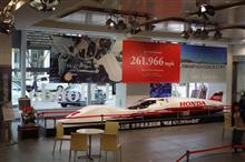 ボンネビルチャレンジマシン Honda S-Dream Streamliner 特別展示