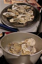 初の牡蠣食べ放題!