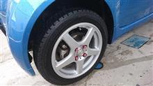 タイヤ交換しました