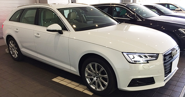 新型Audi A4に試乗したのでインプレ(レビュー記事用)