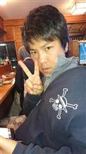 いつもの居酒屋で(* ^ー゜)ノ