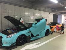 11月27日 秋葉原UDX 地下2階駐車場 イベント参加