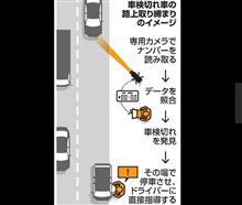 車検切れ車18年度から取締強化