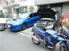 [近況] レガシィ、エクシーガ、CBR250Four(各車のメンテナンス状況など)