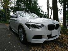 BMW1シリーズF20のインプレ