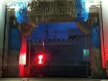 雨降るのに100円洗車