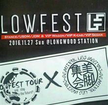 LOWFESTA 2016