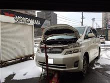札幌のクルーズ ヴェルファイア オイルランプ点灯!