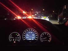 事故渋滞!
