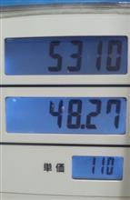 ガソリン安っ!!!!!!!