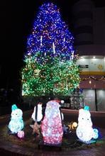 またクリスマスツリー