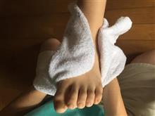 キッパリと足を洗いやした!