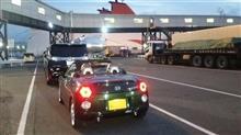 旅の初日:大阪南港から別府行きのフェリーに乗船