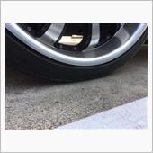 タイヤがぺったんこ