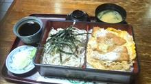 久し振りにかつ丼セット食べました~♪ (*^_^*)