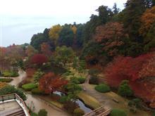 紅葉の偕楽園