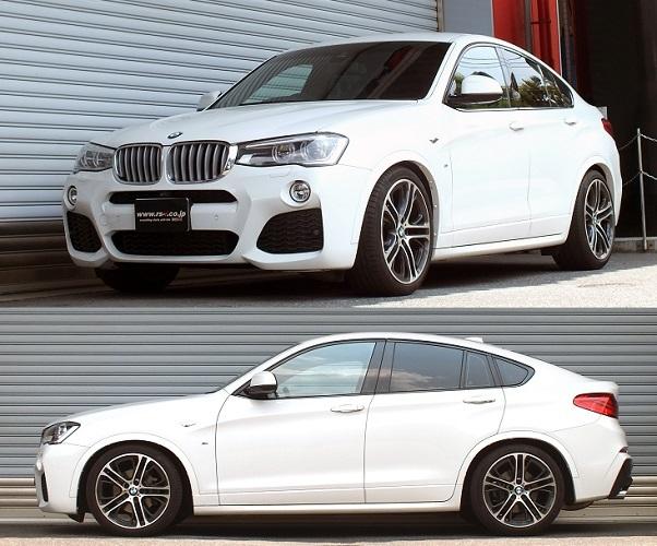 BMW X4 F26型 Mスポーツ 車高調 『 Best☆i 』 発売中です!!