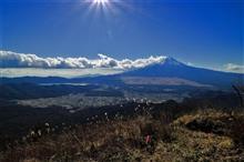 山梨県富士吉田の杓子山に低山徘徊