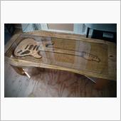 ギターテーブル完成
