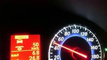 初!燃費計測