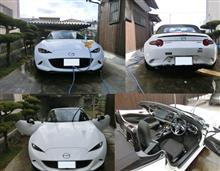 ロードスター洗車&ランチとんかつツーリング