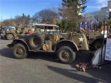 高崎クラシックカーフェスティバルの参加車両 その3 軍用車とバイク