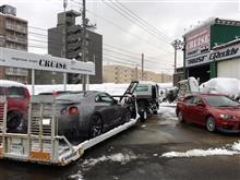 札幌のクルーズ R35 GR6ミッション修理完了!
