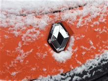 寒いと思ったら…初雪!!!