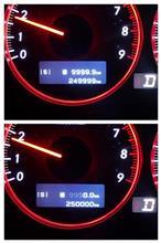 250,000kmを通過
