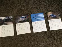 今年もなんだかんだでカレンダー作成