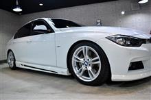 フルACシュニッツァー武装 BMW・3シリーズのガラスコーティング【リボルト高崎】