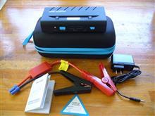 ジャンプスターター 12V車用 モバイルバッテリーを購入