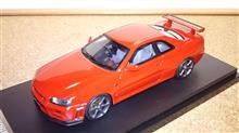 赤い34GT-R