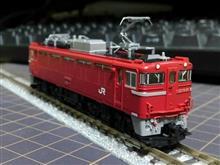 TOMIX・JR ED79-0形電気機関車(シングルアームパンタグラフ搭載車)
